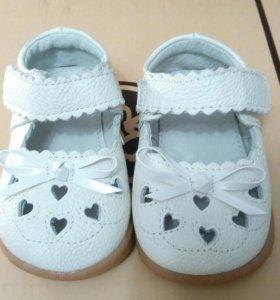 Детские туфельки на девочку 20 размер