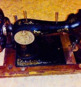 19 век Раритетная швейная машинка Durlach Gritzner