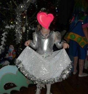 Костюм новогодний Снежинка