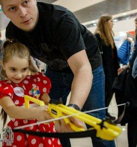 Безопасный тир на детский праздник