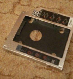переходник HDD вместо привода ноутбука