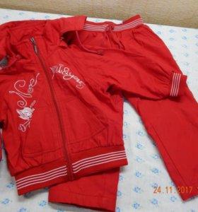 спортивный костюм для девочки 2-3 лет