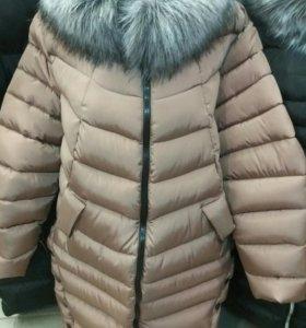 Стильная женская куртка 👍⛄❄большие размеры ✔
