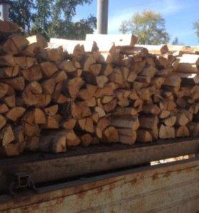 Колотые дрова от заготовителя