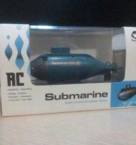 Подводная додка на пульте управления