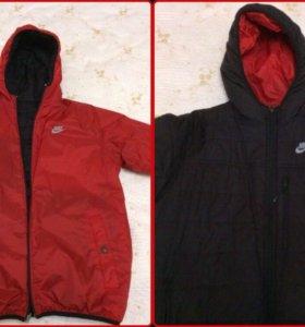 Куртка Nike -двух сторонняя