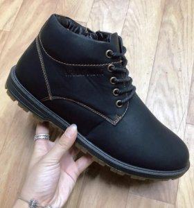 НОВЫЕ зимние ботинки, 41