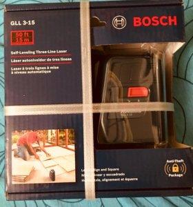 Нивелир лазерный Bosch GLL 3-15