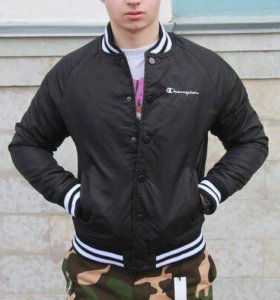 Куртка Бомбер Champion x Supreme