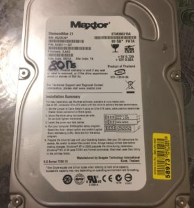 HDD Maxtor 80 Gb