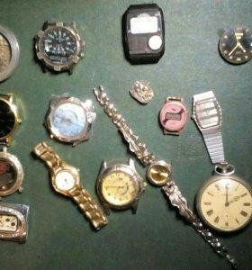 Часы + разное