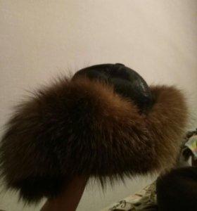 Зимняя шапка мужская