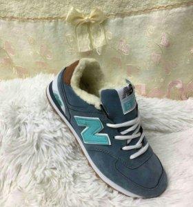 Новые кроссовки зимние