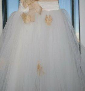 Шикарное Нарядное платье для принцессы