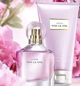 Парфюмерно-косметический набор Viva la vita