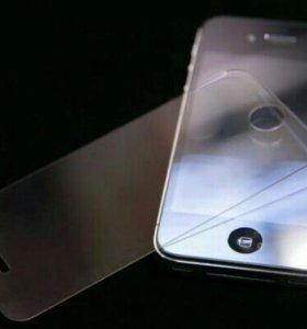 Бронь стекло для iphone 4/4s