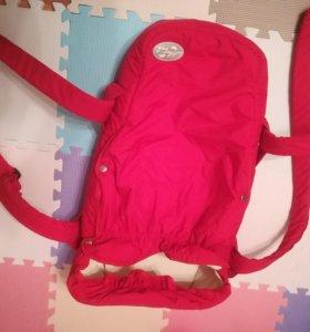 Переноска для новорожденных little trek торба