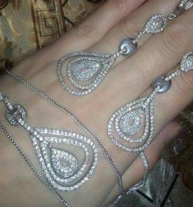 Комплект серебро 925