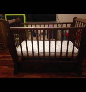 Детская кроватка Лель Лаванда