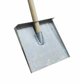 Лопата снеговая трехбортная 330х400 (Алюминий)