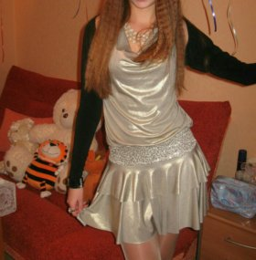 Вечернее платье на новый год