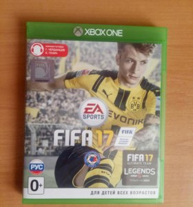 FIFA 17 на Xbox one