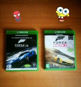 Forza motorsport 6 и Forza horizon 2 на Xbox one
