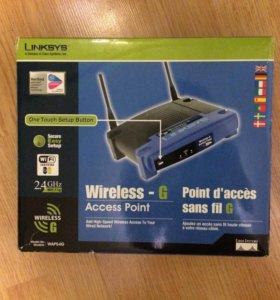 Linksys WAP54G роутер точка доступа маршрутизатор