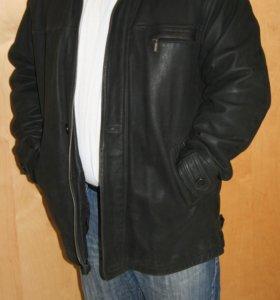 куртка кожаная Hugo Boss