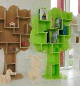 Стеллаж - Дерево в детскую