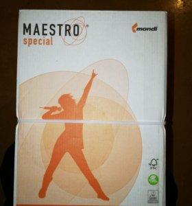 Бумага А4 maestro special, 50 коробок по 5 пачек