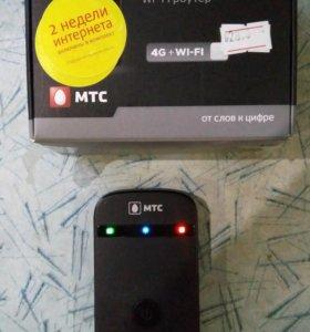 МТС Коннект 4G LTE Wi-Fi-роутер! и МТС Коннект 3G
