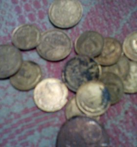 Монеты СССР. Одна - две коппейки