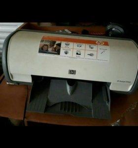 Струйный принтер. Рабочий.