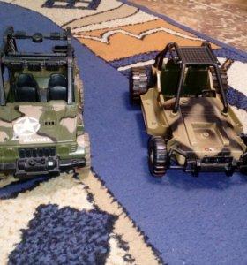 Машинки военные