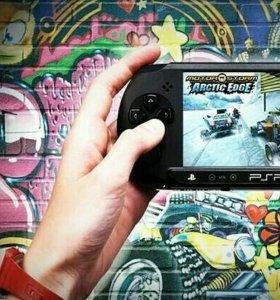 PSP + 5 игр