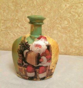 Декоративные бутылочки