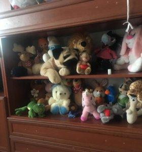 Мягкие игрушки все