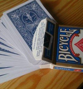 Игральные карты (для покера, фокусов и тд.)
