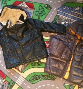 Куртка Zara и Mango