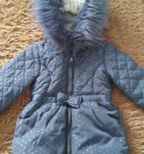 Курточка на 1,6-3 года.Замняя.