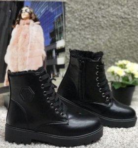 Новые женские ботинки зима р-р 39,40,41