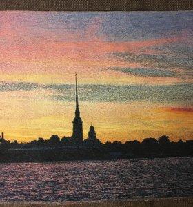 Картина Петербург гобелен