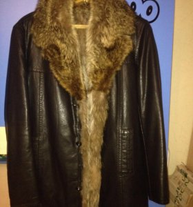 мужская зимняя куртка очень теплая 50-52р