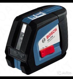 Лазерный уровень (нивелир) gll 2-50 bosch