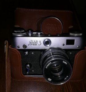 Коллекционерам. Фотоаппарат ФЭД 3.