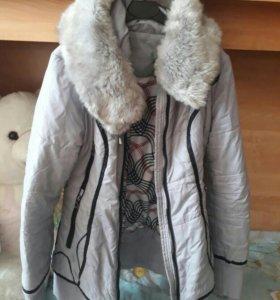 Пуховик зима 42-44