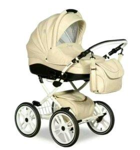 Детская коляска 2 в 1 Slaro Indigo S Plus 14