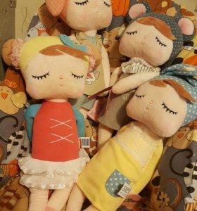 Metoo ОРИГИНАЛ дудушка игрушка кукла плюш