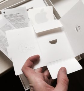 Коробка iPad Air wifi Cellular 64gb gold